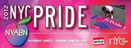 2012 June Bi Pride Events in the greater NYC Tri-state Region